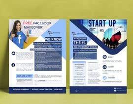 #17 para Design a Flyer, front and back por ayahmohamed129