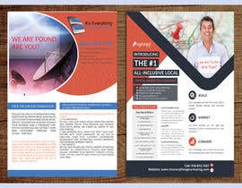 #16 for Design a Flyer, front and back by mostofa1994