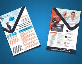 #3 for Design a Flyer, front and back by chirananimesh6