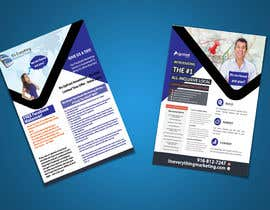 #9 for Design a Flyer, front and back by chirananimesh6
