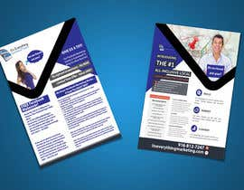 #12 for Design a Flyer, front and back by chirananimesh6