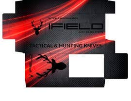 Nro 42 kilpailuun CREAT PRINTABLE PACKAGING DESING FOR TACTICAL AND HUNTING KNIVES käyttäjältä jjwebdesign
