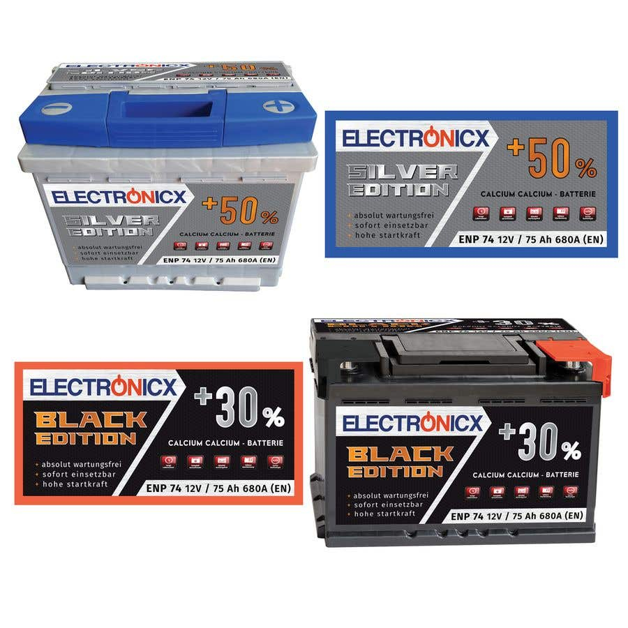 Penyertaan Peraduan #247 untuk Car Battery Design