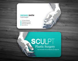 #109 para Business cards for a plastic surgeon's practice por ershad0505
