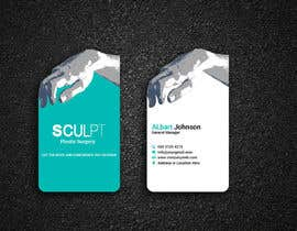 #110 for Business cards for a plastic surgeon's practice by Designopinion