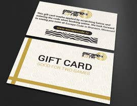 nº 20 pour Gift Card Design par FreelancerAnis