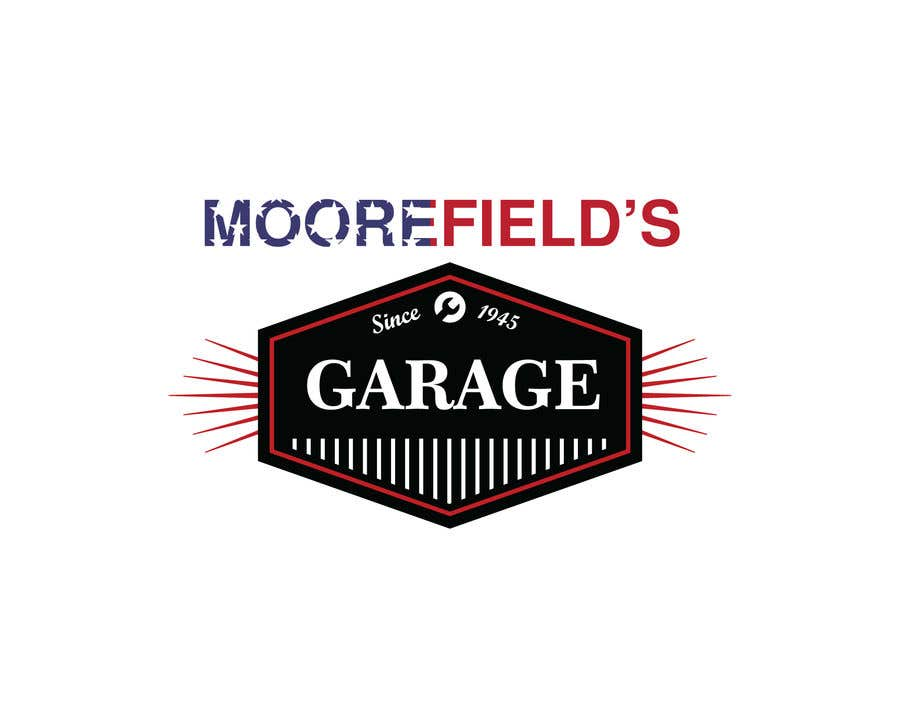 8d5c625366 Entry  31 by sohan010 for Moorefields Garage wrap   logo design ...