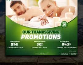 #38 for Design a thanksgiving seasonal promotional banner ad for a spa af khaledmohamed15r
