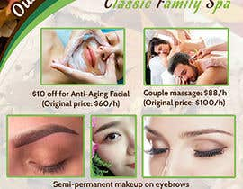 #29 for Design a thanksgiving seasonal promotional banner ad for a spa af adelheid574803