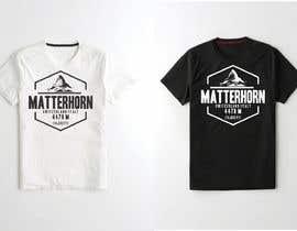 #53 for Design a Mountain T-shirt by Sufyanmustafa