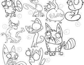 #38 for Draw 3 funny cartoon animals af ToaMota