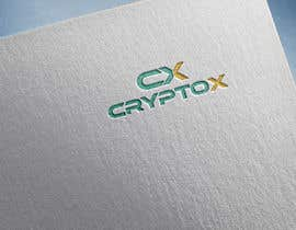 #507 para Logo design for CryptoX por zahidkhulna2018