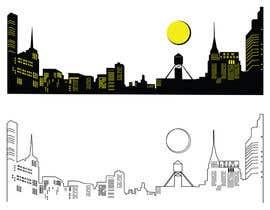 #72 for Skyline line sketch (New York) by pgaak2