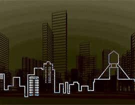 #64 for Skyline line sketch (New York) by Arfankha