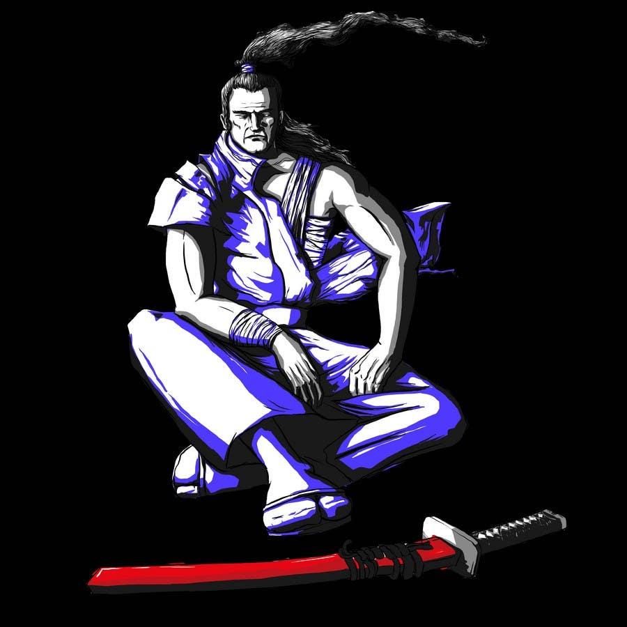 Inscrição nº                                         81                                      do Concurso para                                         Samurai T-shirt Design for Cripplejitsu