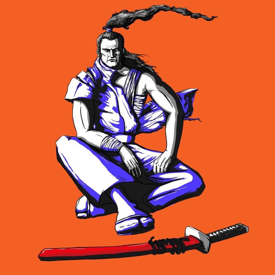 Contest Entry #                                        83                                      for                                         Samurai T-shirt Design for Cripplejitsu