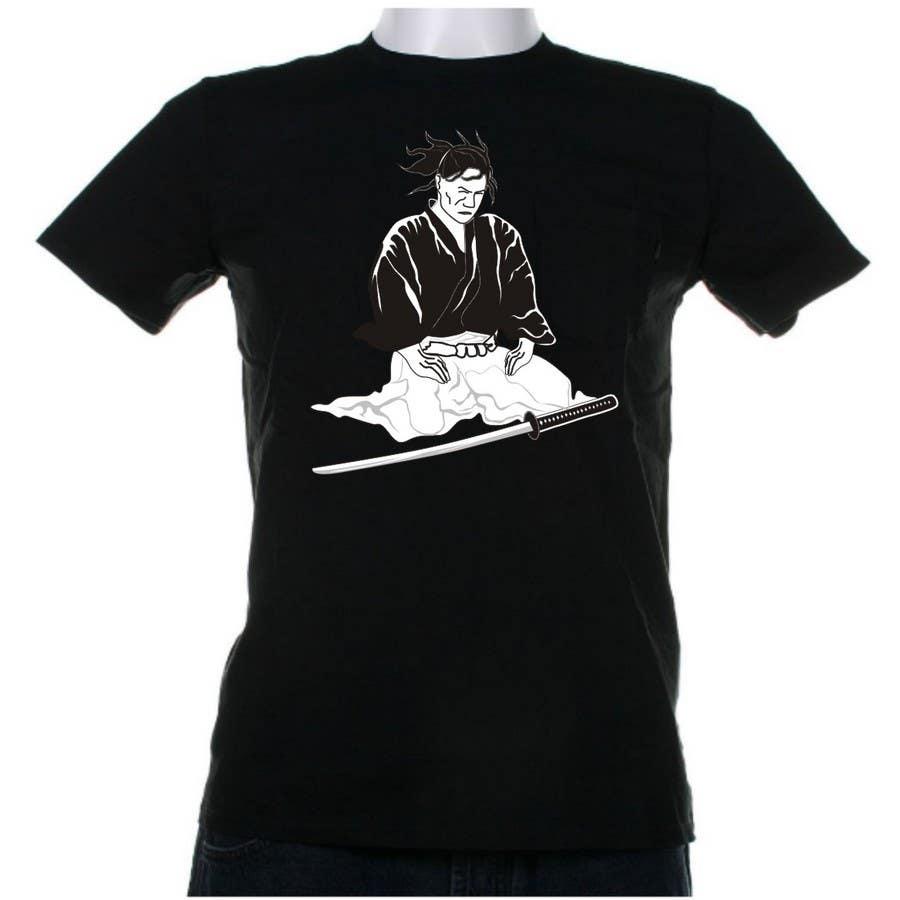 Contest Entry #                                        15                                      for                                         Samurai T-shirt Design for Cripplejitsu