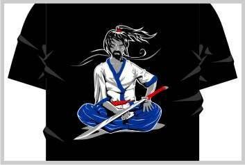 Inscrição nº                                         10                                      do Concurso para                                         Samurai T-shirt Design for Cripplejitsu
