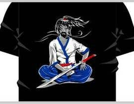 nº 10 pour Samurai T-shirt Design for Cripplejitsu par mazec
