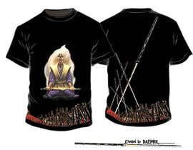nº 29 pour Samurai T-shirt Design for Cripplejitsu par daemul