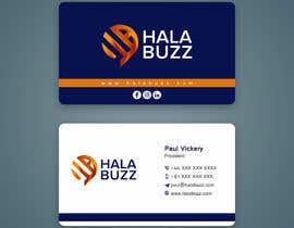 #45 untuk Business Card for HalaBuzz oleh sandeepstudio