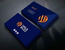 #202 para Business Card for HalaBuzz de bachchubecks