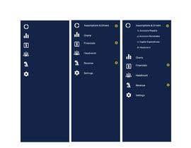 nº 20 pour Design a Sidebar on Webpage + Color Scheme par sherlockcse