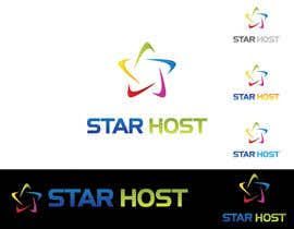 #92 for Logo Design for Star Host by winarto2012