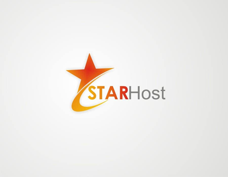 entry 33 by xahe36vw for logo design for star host freelancer