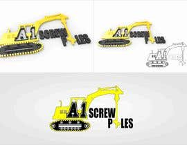 #22 dla Logo Design for ScrewPile Company - See attached for details przez AnwarDM