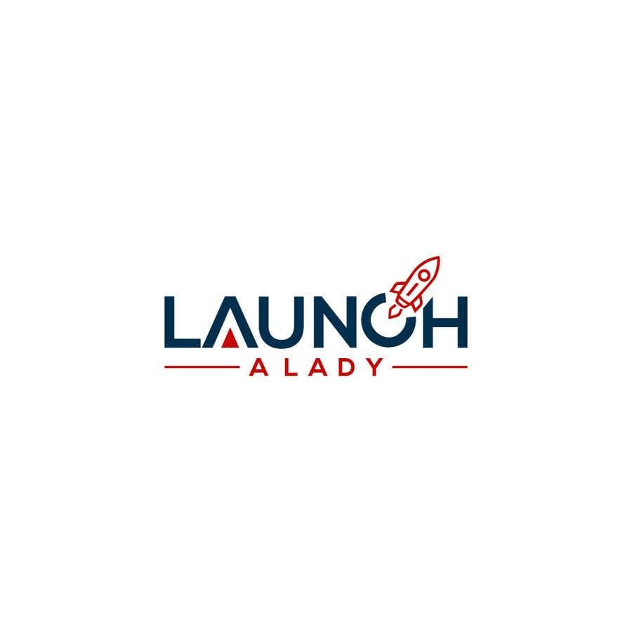 Kilpailutyö #27 kilpailussa logo for launch a lady