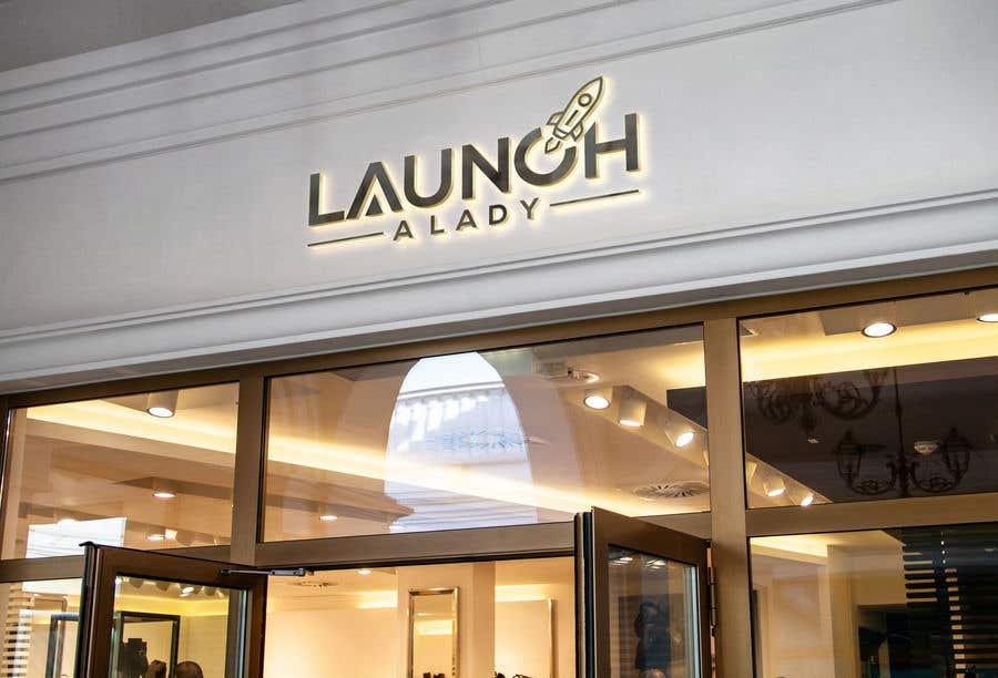 Kilpailutyö #29 kilpailussa logo for launch a lady
