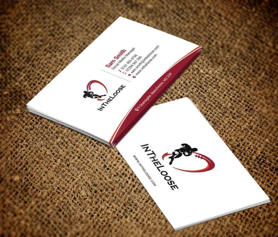 Penyertaan Peraduan #244 untuk Design a Business Card
