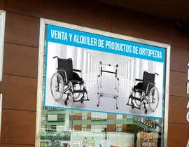 #24 para Diseñar un vinilo para escaparate de una farmacia -ortopedia de TUKU22