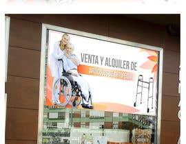 #16 para Diseñar un vinilo para escaparate de una farmacia -ortopedia de rusbelyscastillo