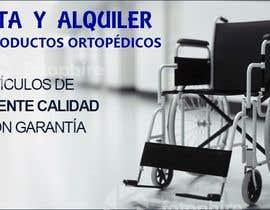 #25 para Diseñar un vinilo para escaparate de una farmacia -ortopedia de benjulips