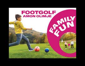 #64 for Footgolf banner by freelancerdez