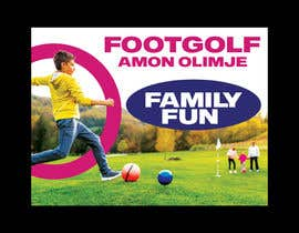 #87 for Footgolf banner by freelancerdez