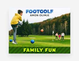 #63 for Footgolf banner by joengn