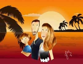 #20 for I would like you to draw my family portrait with a special technique by jucpmaciel