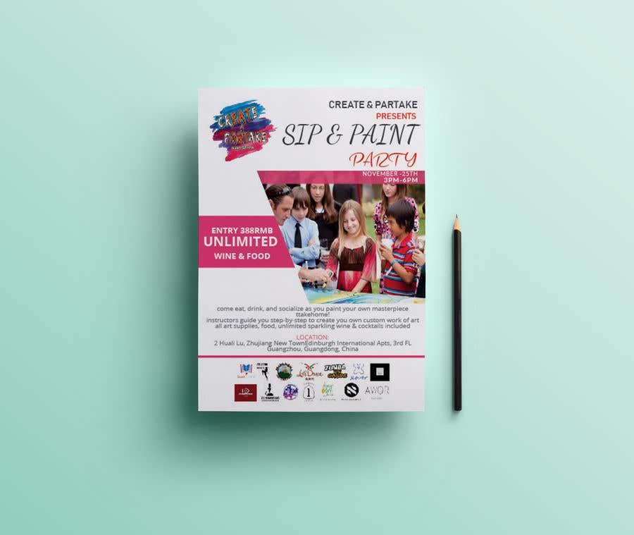 entry 52 by momodart for make an event flyer freelancer