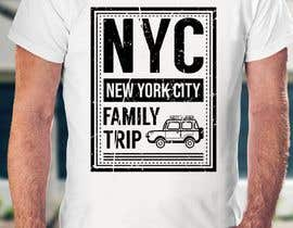 nº 16 pour Need fun T-shirt design - Family trip to NYC par rummankhabir99