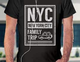 nº 17 pour Need fun T-shirt design - Family trip to NYC par rummankhabir99
