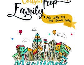 nº 14 pour Need fun T-shirt design - Family trip to NYC par SalmaHB95