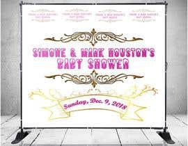 #45 for Baby Shower Banner Design by Rajib024