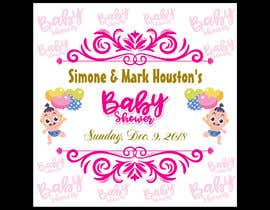 #38 for Baby Shower Banner Design by rahatrc