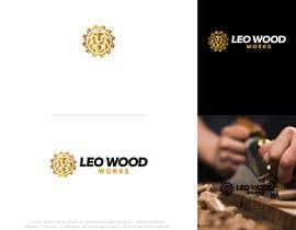 """nº 80 pour logo design """"LEO Wood.Works!"""" par aleeshan"""