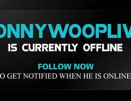 #15 untuk Design a 1920 x 1080 banner for a Twitch channel oleh GraphicsView