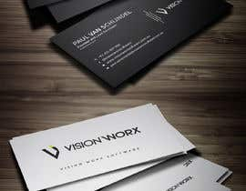Mahimkhan705 tarafından Design a modern and minimalist business card as well as a sticker için no 786