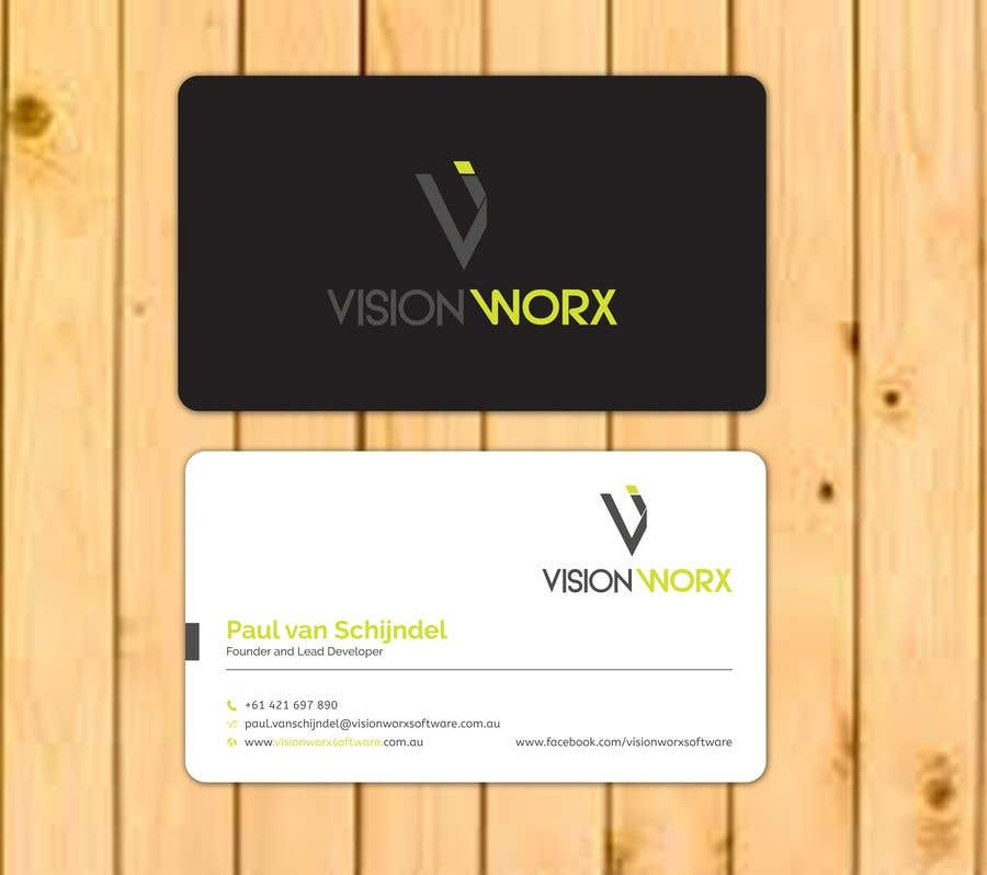Contest Entry #815 For Design A Modern And Minimalist Business Card As Well  As A